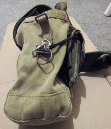 an old ammo pouch is my main finds bag